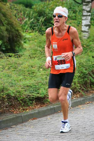 Halve marathon van Hoogland